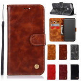 小米 紅米5 紅米5+ 紅米Note5 復古刷色皮套 手機皮套 插卡 支架 皮套 掛繩 磁扣 保護套 手機套