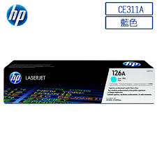 HP CE311A原廠青藍色(碳粉匣 適用CP1025/M175a/M175nw(原廠品)◆永保最佳列印品質