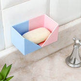 ◄ 生活家精品 ►【N423】自由組合黏貼置物架(4入) 創意 多功能 廚房 組裝紙巾架 保鮮膜 收納架