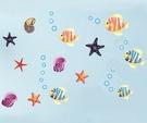 Loxin 壁貼 海底公園 身高尺 牆貼 無痕壁貼 兒童壁貼 可愛壁貼 diy壁貼紙 背景貼【SF1468】