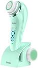 Brelax 【日本代購】 潔面刷電動IPX7防水三種模式帶磁式USB充電敏感肌膚臉部按摩器