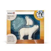 Schleich 史萊奇動物模型北極熊_SH41401