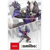 [哈GAME族]現貨 免運費 可刷卡 amiibo 公仔 明星大亂鬥 《沃爾夫》適用 Switch NS WiiU 3DS