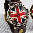 【BOBO】復古英倫風情皮革錶-棕 FFQ-1886