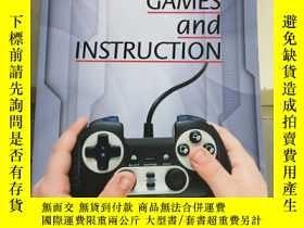 二手書博民逛書店computer罕見games and instruction(