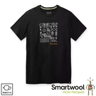 【SmartWool 美國 男 Merino Sport 150 趣味公園T恤《黑》】SW000797/排汗衣/ 機能衣