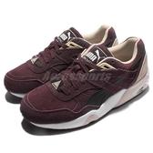 【六折特賣】Puma 慢跑鞋 R698 Remaster 紅 白 復古 酒紅 鞋面麂皮 運動鞋 女鞋【PUMP306】 36141803