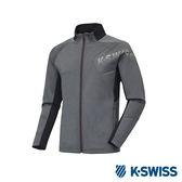 K-Swiss Jersey Jacket 韓版運動外套-男-灰