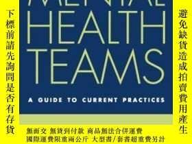 二手書博民逛書店Community罕見Mental Health Teams (