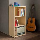 空櫃 收納【收納屋】 輕日式三格櫃-原木色(2入組)&DIY組合傢俱
