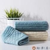 棉質吸水洗臉毛巾家用洗澡洗臉巾男女加厚擦手巾【淘夢屋】