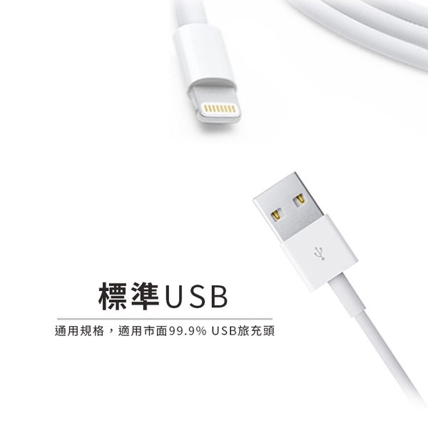 APPLE 2M Lightning傳輸線 原裝晶片 iPhone X/XS/XR/XS MAX iPhone 8/iPhone 7/iPhone 6S 一年保固 充電線 [ WiNi ]