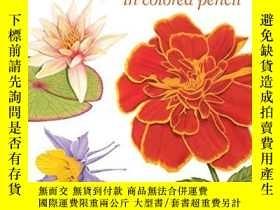 二手書博民逛書店Creating罕見Radiant Flowers In Colored PencilY256260 Gary