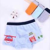超級飛俠兒童內褲純棉男童三角寶寶幼兒平角四角褲小孩3-5歲短褲