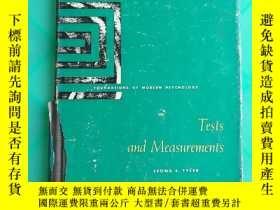 二手書博民逛書店foundations罕見of modern psychology tests and measurements(