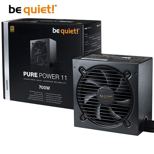 be quiet! PURE POWER 11 700W 80+金牌 電源供應器