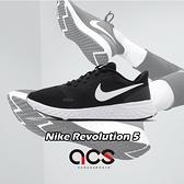 Nike 慢跑鞋 Wmns Revolution 5 女鞋 黑 白 基本款 運動鞋 【ACS】 BQ3207-002