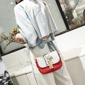 包包 潮單肩斜背包個性時尚鍊條包百搭側背包14