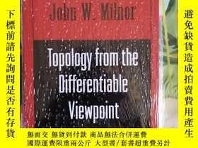 二手書博民逛書店Topology罕見from the differentiable viewpoint by milnorY3