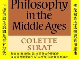 二手書博民逛書店A罕見History Of Jewish Philosophy In The Middle AgesY2562