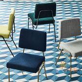 快速出貨-梳妝椅梳妝凳 化妝凳梳妝台椅凳子簡約現代歐式美甲凳臥室方凳靠背軟包 WY
