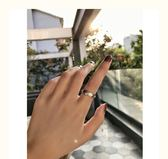 戒指女士純銀極簡食指戒 莎瓦迪卡