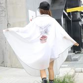 自行車雨衣單人男女成人水衣單車透明可愛韓版學生騎行雨披   伊鞋本鋪