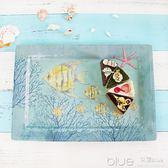 長托盤家用茶盤長方形茶杯托盤北歐面包盤仿瓷端菜餐盤水果盤 深藏blue