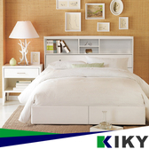 【床頭箱】 單人加大3.5尺【宮本】-多隔間加高床頭~(不含床底) 台灣自有品牌-KIKY