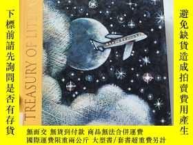 二手書博民逛書店HBJ罕見TREASURY OF LITERATUREY2463