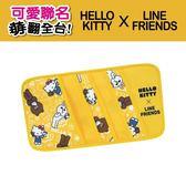 【旭益汽車百貨】Hello Kitty ╳ LINE 可愛面紙盒掛袋 (可吊掛車內頭枕)