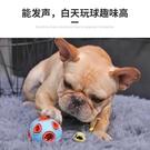 狗狗貓咪玩具球寵物耐咬幼犬彈力神器逗貓鈴鐺狗發光球球磨牙橡膠 樂活生活館