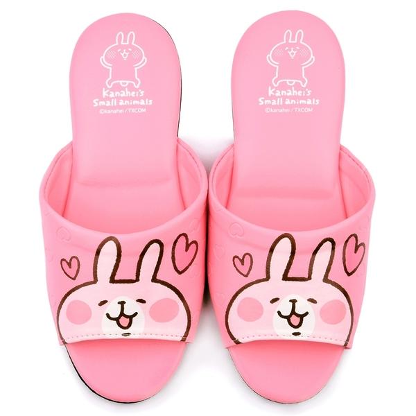 童鞋城堡-卡娜赫拉 成人款室內拖鞋KI0538-粉