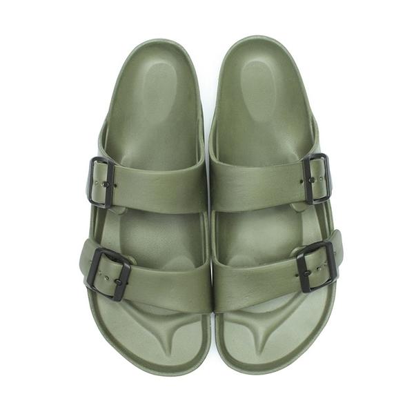 【富發牌】輕量造型男生防水拖鞋-黑/白/藍/藏青/軍綠 2SH01