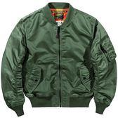 VIP秋季美國空軍MA1飛行員夾克男韓版棒球服薄款大碼工裝外套潮牌