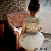 大童兒童裝蓬蓬裙紗裙禮服女公主裙