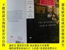 二手書博民逛書店The罕見Mystery of Edwin Drood(艾德溫德