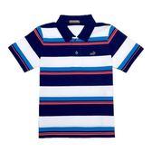 『小鱷魚童裝』休閒條紋POLO衫(02號~06號)531103