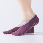 2雙裝夏季純棉瑜伽襪子薄款防滑專業女初學者蹦床襪普拉提地板襪 至簡元素