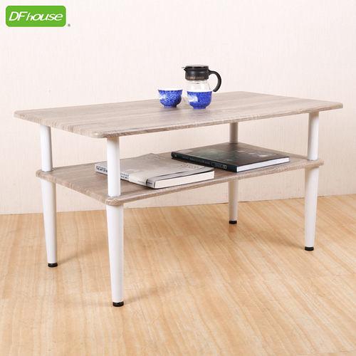 《DFhouse》精品上市 羅浮宮雙層茶几*立體浮雕PVC表面*茶几 電視桌 和室桌