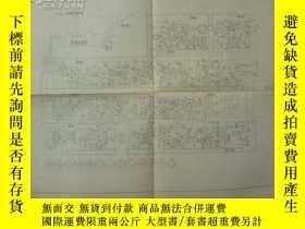 二手書博民逛書店罕見開封牌KD12電視接收機說明書(附電路圖一張)14181 河
