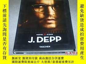 二手書博民逛書店Johnny罕見Depp: A Kind of Illusion