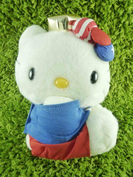 【震撼精品百貨】Hello Kitty 凱蒂貓~KITTY絨毛娃娃-美國圖案