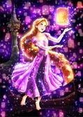 【拼圖總動員 PUZZLE STORY】Disney-樂佩 日本進口拼圖/Tenyo/迪士尼/266P/魔髮奇緣/透明塑膠