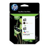 CR311AA HP 61 黑彩組合包(黑色+彩色) 適用HP Deskjet 3050/3000/2050/2000/1050/1000  Deskjet 1010/1510/2510/2540
