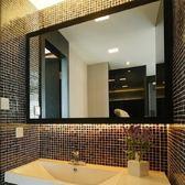 簡約浴室鏡70*90 壁挂衛生間鏡子廁所梳妝台玻璃鏡洗手間洗漱衛浴半身鏡【萬聖節推薦】