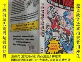 二手書博民逛書店ricky罕見ricotta s mighty robot ricky ricotta的強大機器人Y20039