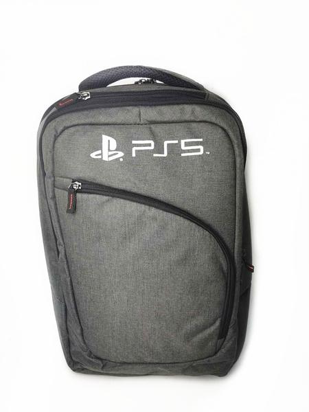 [哈GAME族]免運費 可刷卡 PS5專用(通用款) 全新 PS5 主機雙肩雪花收納包 主機包