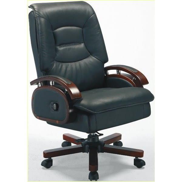 電腦椅 辦公椅 BT-188-3 B003黑色半牛主管椅 【大眾家居舘】