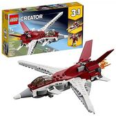 LEGO 樂高 Creator 3in1 Futuristic Flyer 31086 Building Kit (157 Piece)
